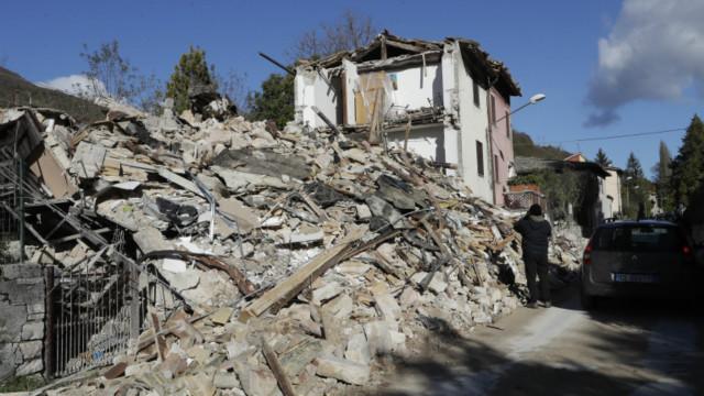 Италия приходит в себя после ночных землетрясений