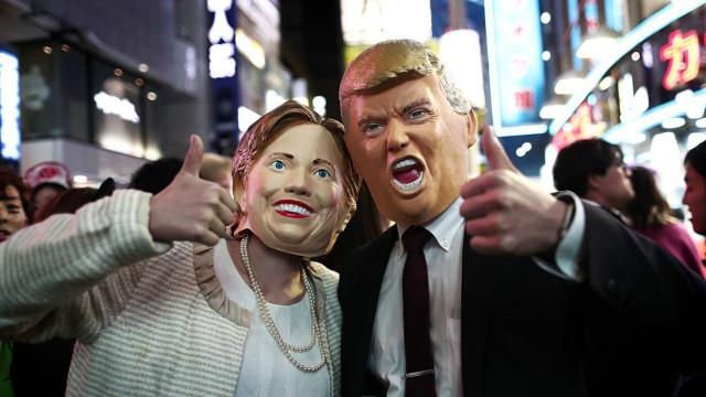Клинтон опережает Трампа на 5%