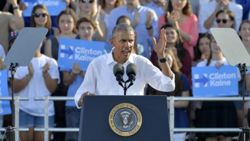 Обама: поражение Клинтон на выборах отбросит страну назад