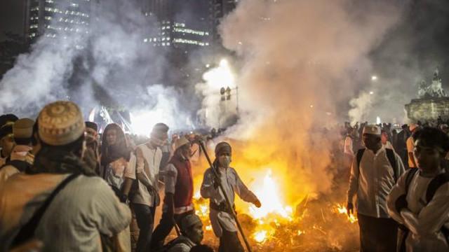 Беспорядки в столице Индонезии: один человек погиб