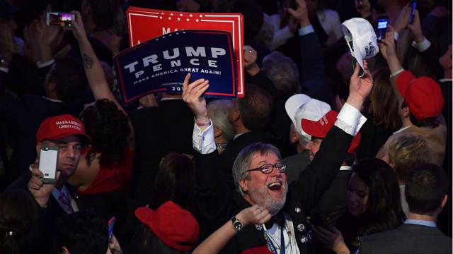 Выборы в США: Трамп побеждает в ключевых штатах