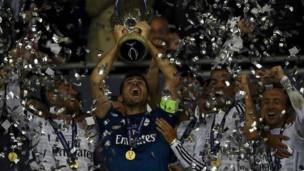 Real Madrid campeón Supercopa
