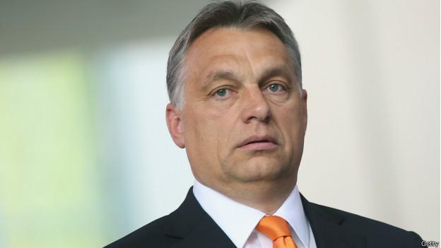 El primer ministro húngaro Viktor Orban.