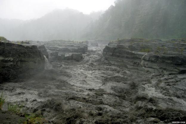 Crecida del río Daan en 2009