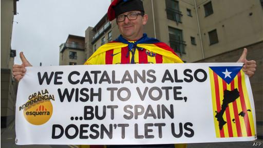 Catalan, Escocia