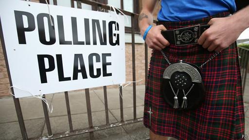 escocia polling station