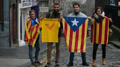 Catalanes en Escocia