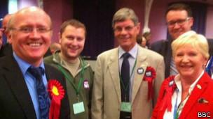 """La campaña por el """"No"""" celebra su victoria en Clackmannanshire."""