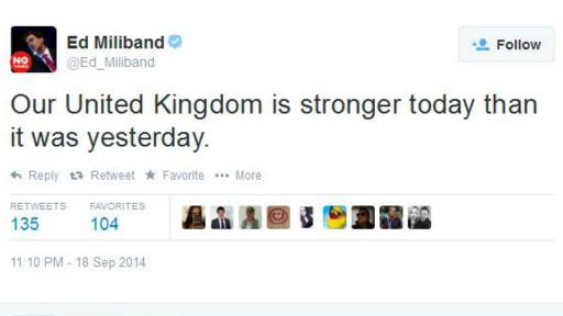 Tuit Ed Miliband